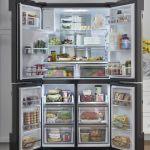 Новый четырехдверный встраиваемый холодильник от Samsung